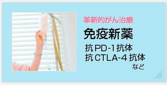 革新的がん治療 免疫新薬(抗PD-1抗体、抗CTLA-4抗体など)